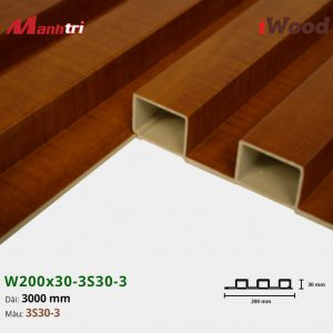 tấm ốp iWood 3S30-3 hình 3