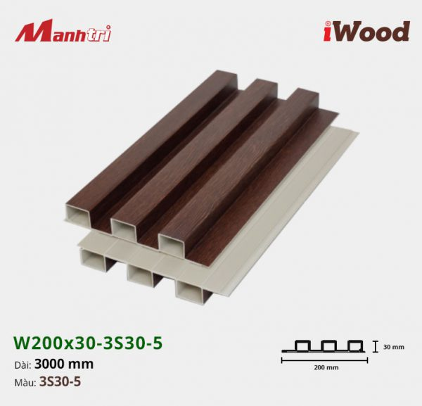 tấm ốp iWood 3S30-5 hình 2