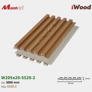 tấm ốp iWood 5S20-2 hình 3