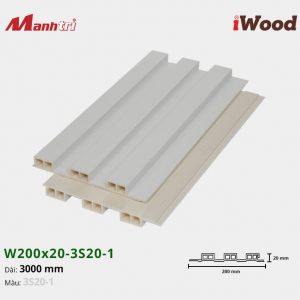 tấm ốp iwood w200-20-3s20-1 hình 2