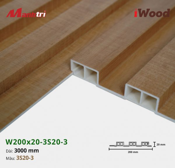 tấm ốp iwood w200-20-3s20-3 hình 3