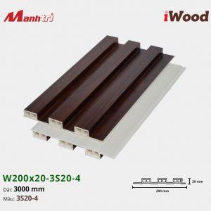 tấm ốp iwood w200-20-3s20-4 hình 2