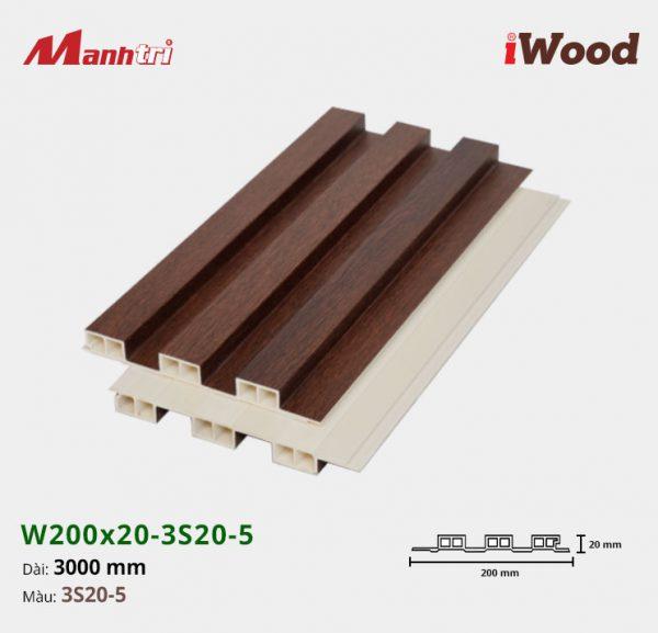 tấm ốp iwood w200-20-3s20-5 hình 2