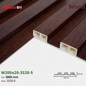 tấm ốp iwood w200-20-3s20-5 hình 4