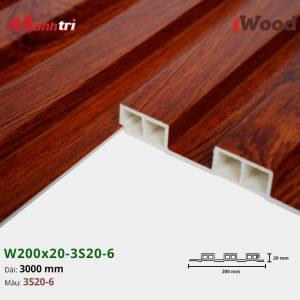 tấm ốp iwood w200-20-3s20-6 hình 3