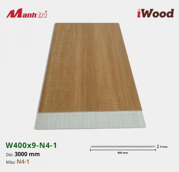 tấm ốp iWood W400x9-N4-1 hình 1