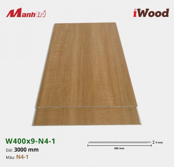 tấm ốp iWood W400x9-N4-1 hình 2