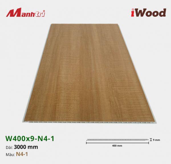 tấm ốp iWood W400x9-N4-1 hình 3