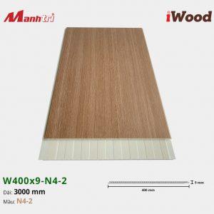 tấm ốp iWood W400x9-N4-2 hình 2