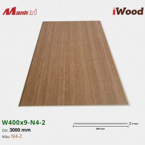 tấm ốp iWood W400x9-N4-2 hình 3