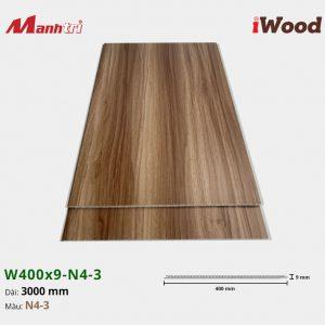 tấm ốp iWood W400x9-N4-3 hình 1