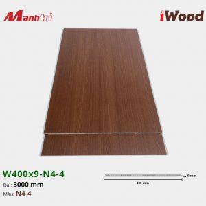 tấm ốp iWood W400x9-N4-4 hình 2
