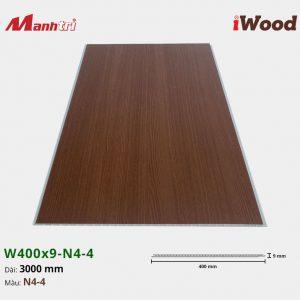 tấm ốp iWood W400x9-N4-4 hình 3
