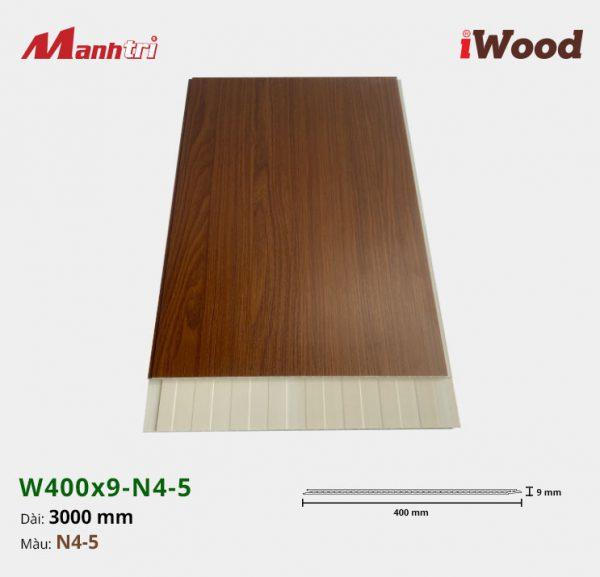 tấm ốp iWood W400x9-N4-5 hình 1