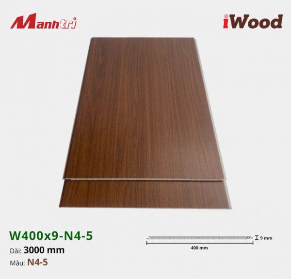 tấm ốp iWood W400x9-N4-5 hình 2