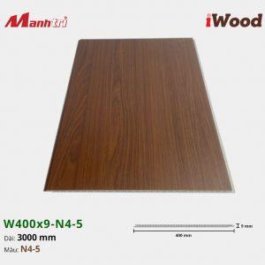 tấm ốp iWood W400x9-N4-5 hình 3