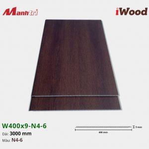 tấm ốp iWood W400x9-N4-6 hình 2