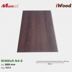 tấm ốp iWood W400x9-N4-6 hình 1