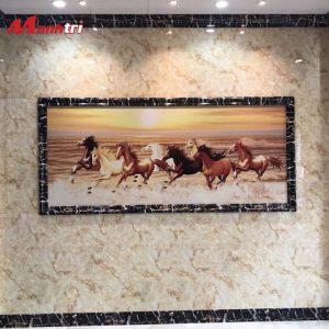 tấm ốp tường hoa văn PVC 9605 hình 2