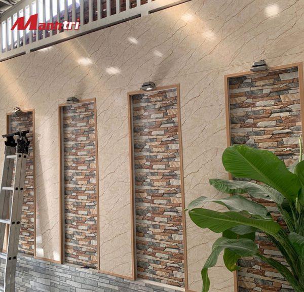 tấm ốp tường vân đá PVC 9635 hình 2