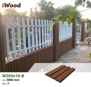 thi công iwood W204x16-b-12
