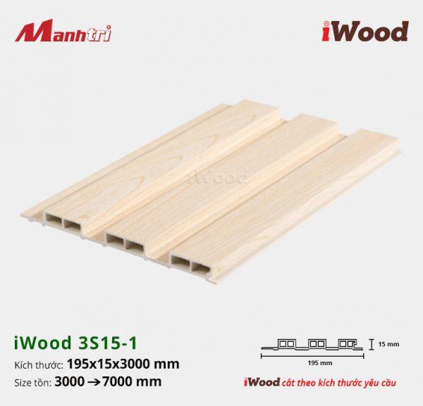 tấm ốp iwood w200-20-3s15-1 hình 1