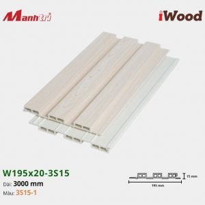 tấm ốp iwood w200-20-3s15-1 hình 2