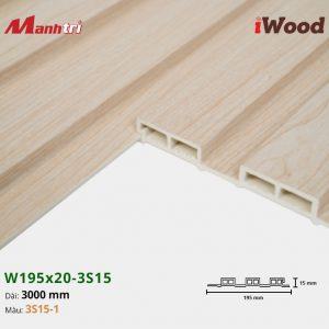 tấm ốp iwood w200-20-3s15-1 hình 3