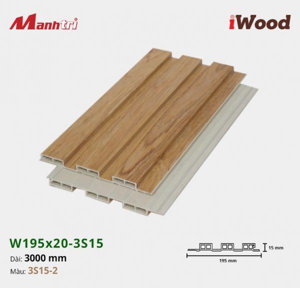 tấm ốp iwood w200-20-3s15-2 hình 2