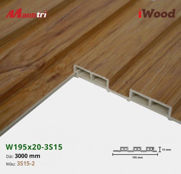 tấm ốp iwood w200-20-3s15-2 hình 3