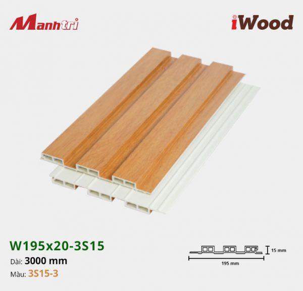 tấm ốp iwood w200-20-3s15-3 hình 2