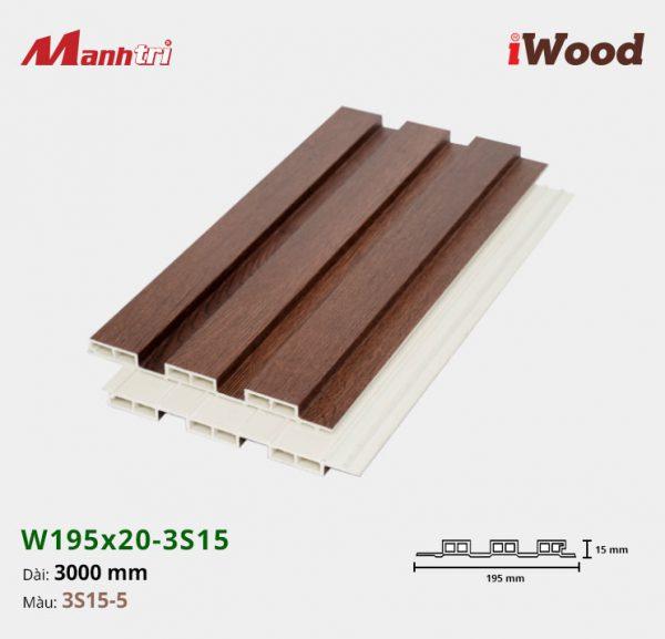 tấm ốp iwood w200-20-3s15-5 hình 2