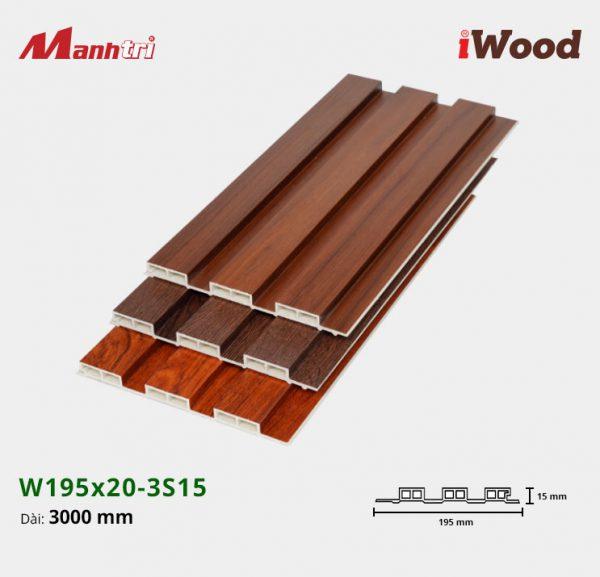 tấm ốp iwood w200-20-3s15 hình 2