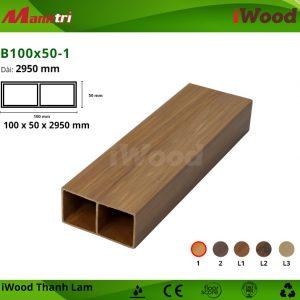 thanh lam iWood B100x50-1 hình 1