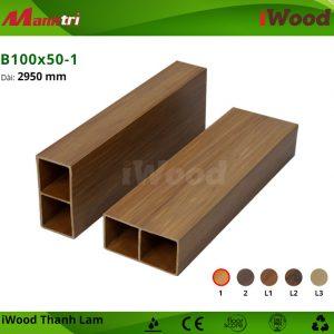 thanh lam iWood B100x50-1 hình 2