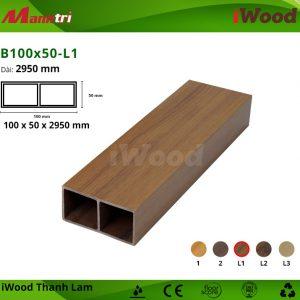 thanh lam iWood B100x50-L1 hình 1