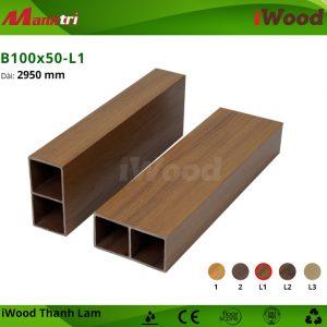 thanh lam iWood B100x50-L1 hình 2