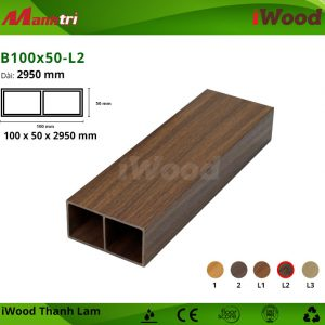 thanh lam iWood B100x50-L2 hình 1