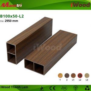 thanh lam iWood B100x50-L2 hình 2
