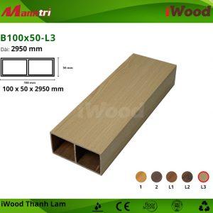 thanh lam iWood B100x50-L3 hình 1