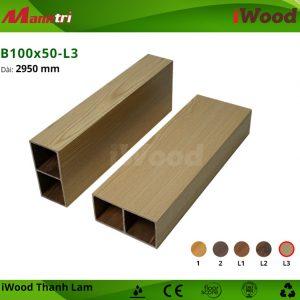 thanh lam iWood B100x50-L3 hình 2