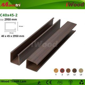 iWood C40x45-2 hình 2
