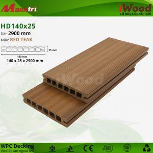 iWood HD140-25-Redteak hình 1