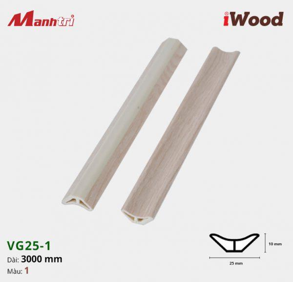 iWood nẹp VG25-1