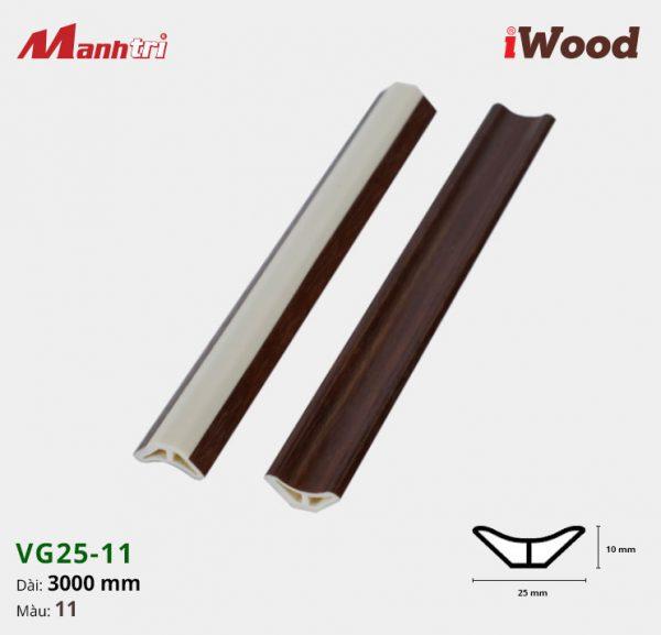 iWood nẹp VG25-11