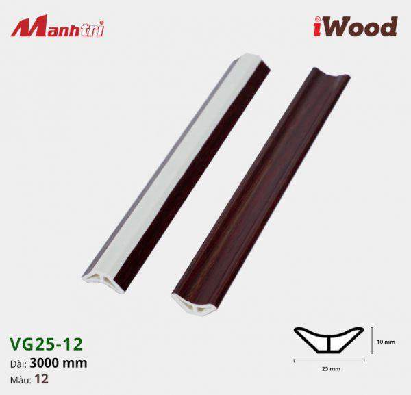 iWood nẹp VG25-12