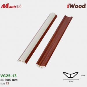 iWood nẹp VG25-13