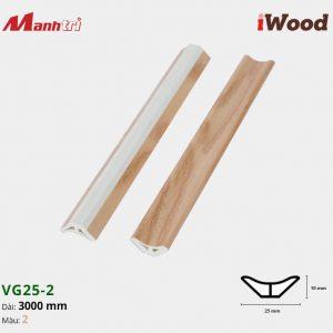 iWood nẹp VG25-2
