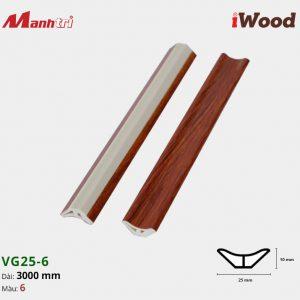 iWood nẹp VG25-6