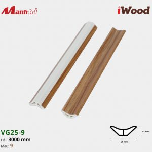 iWood nẹp VG25-9